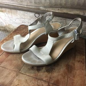 CAMPER Laura Wooden Wedge Sandals Sz 40 / 9